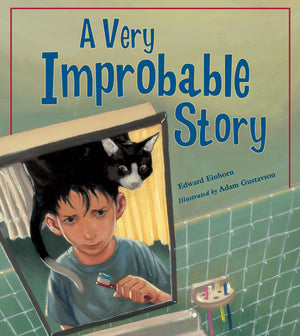 A Very Improbable Story book cover image
