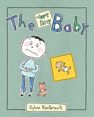 The Very Tiny Baby book cover