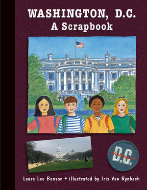 Washington, D.C. A Scrapbook cover image