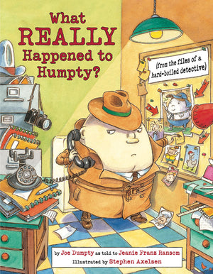 What REALLY Happened to Humpty? book cover image