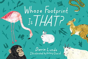 Whose Footprint Is That? book cover