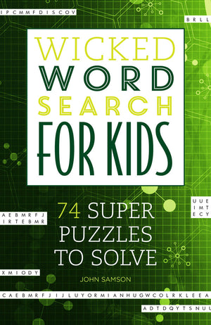 Wicked Word Search for Kids book cover