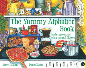 The Yummy Alphabet Book cover image