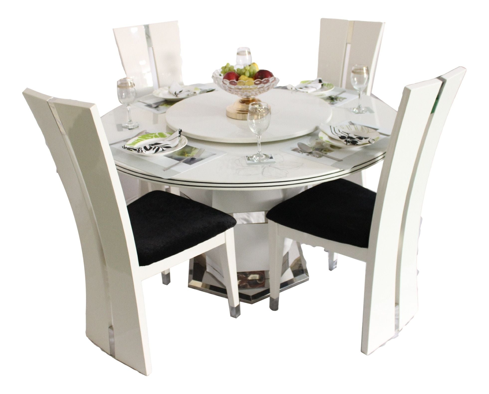 Woodys Furniture Buy Online Round Marble Dining Table