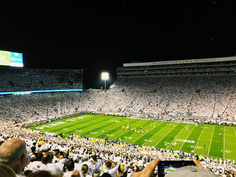 Penn State White Out Campus Colors