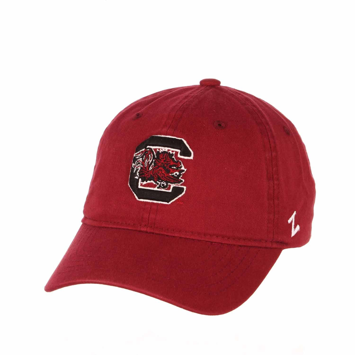 Adult NCAA All-American Relaxed Adjustable Hat (South Carolina Gamecocks - Maroon)