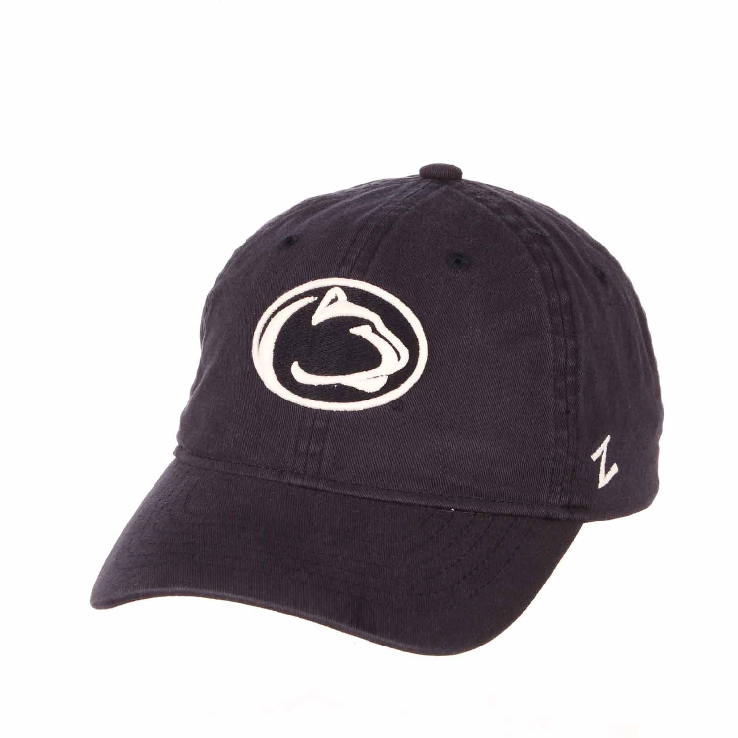 Adult NCAA All-American Relaxed Adjustable Hat (Penn State Nittany Lions - Navy)