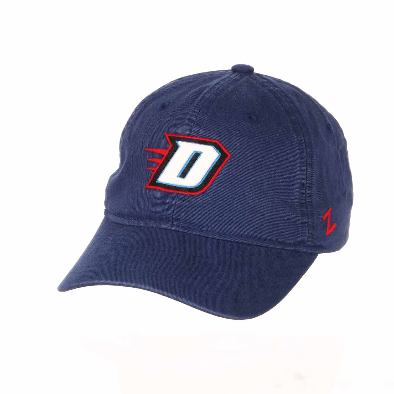 Adult NCAA All-American Relaxed Adjustable Hat (DePaul Blue Demons - Royal)