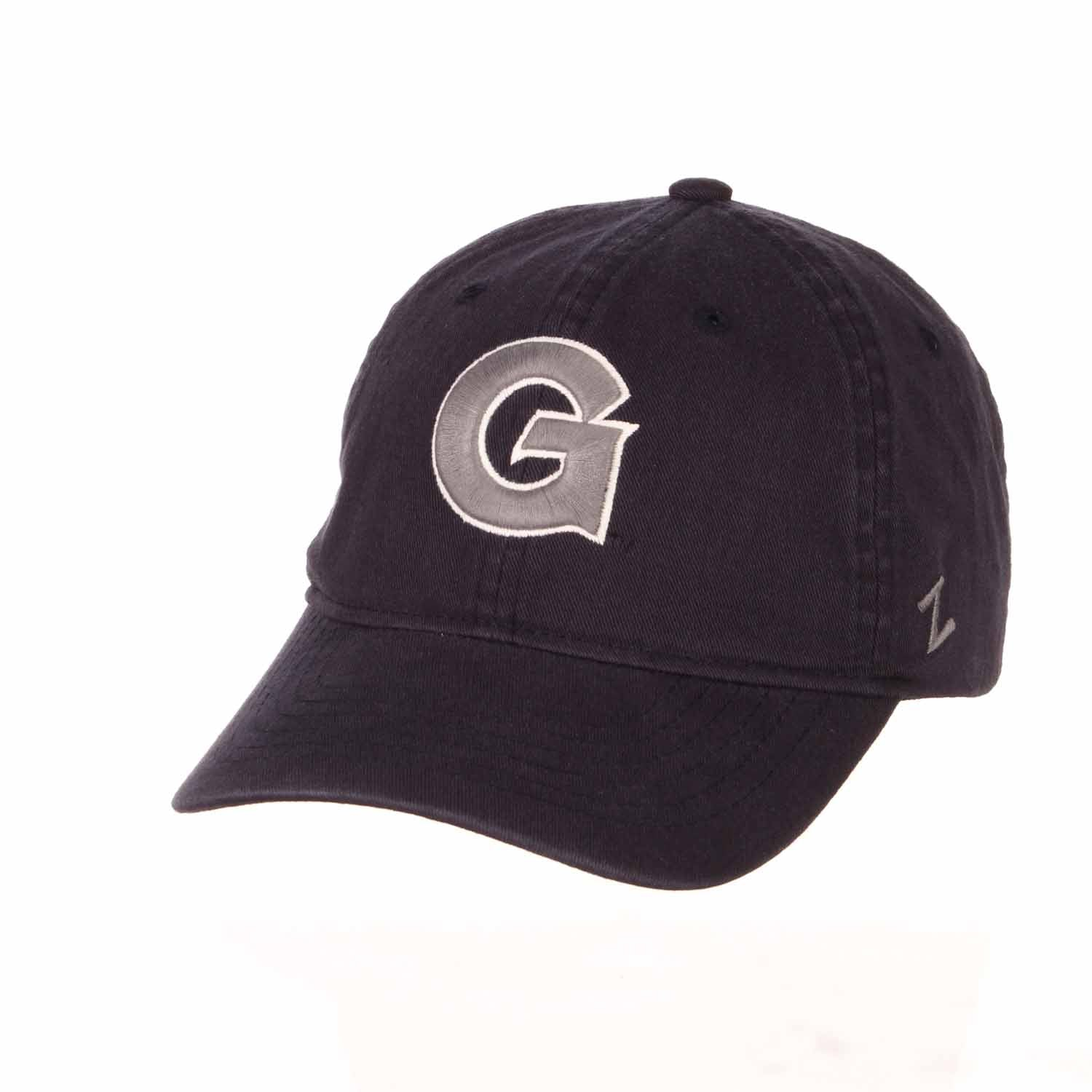Adult NCAA All-American Relaxed Adjustable Hat (Georgetown Hoyas - Navy)