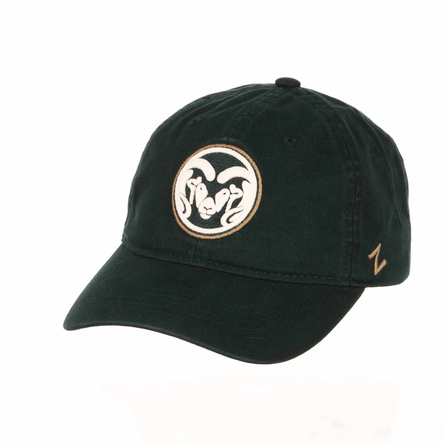 Adult NCAA All-American Relaxed Adjustable Hat (Colorado State Rams - Green)