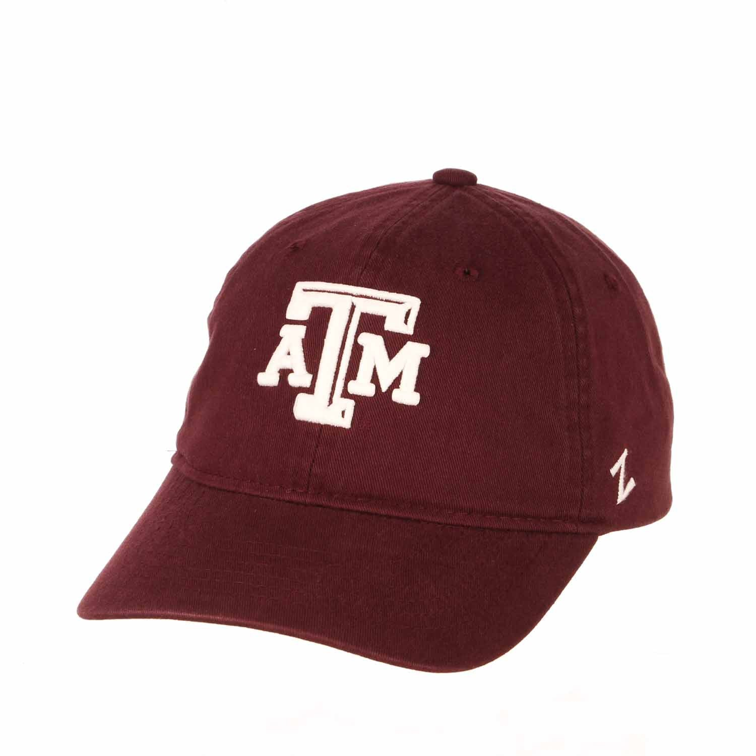 Adult NCAA All-American Relaxed Adjustable Hat (Texas A&M Aggies - Maroon)