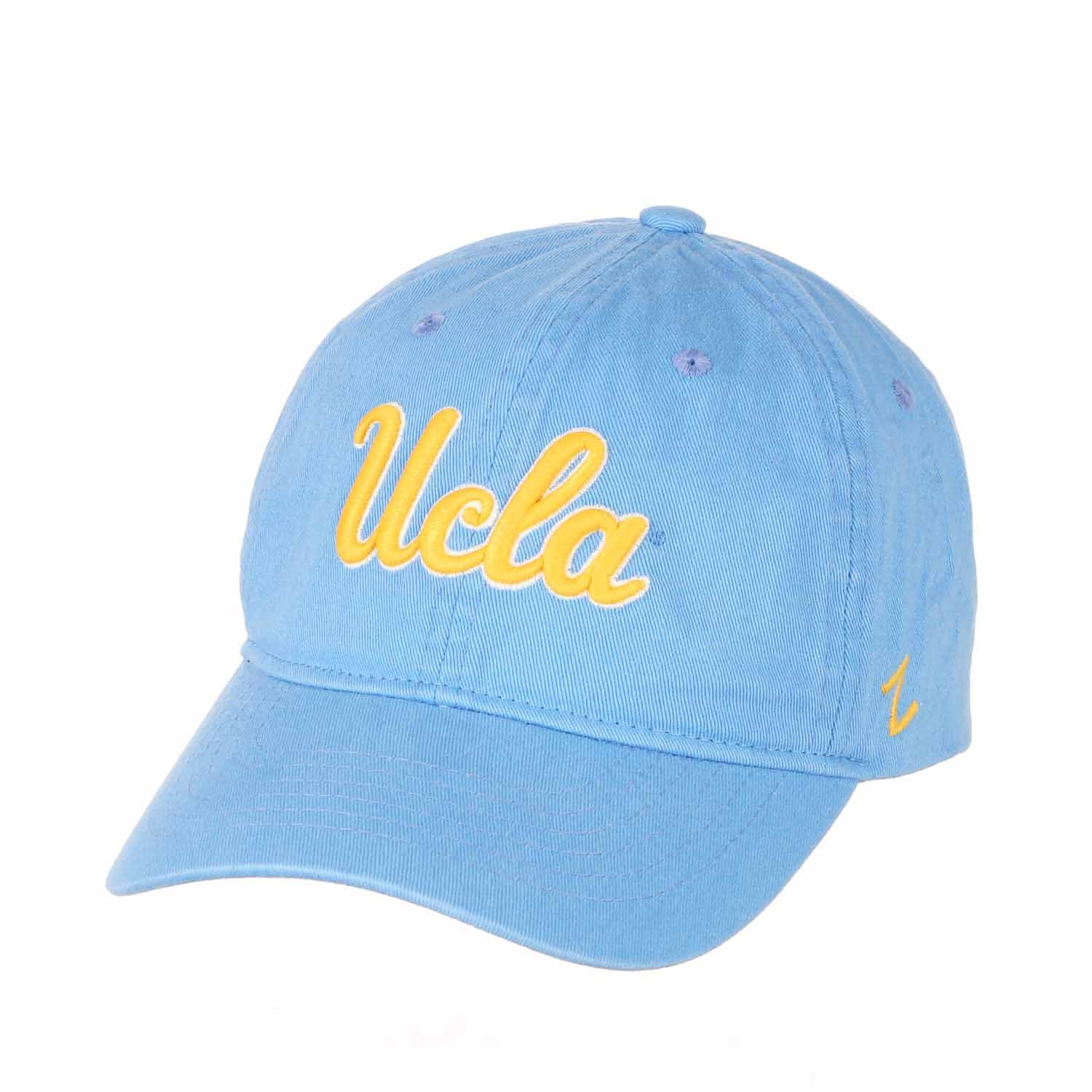 Adult NCAA All-American Relaxed Adjustable Hat (UCLA Bruins - Light Blue)