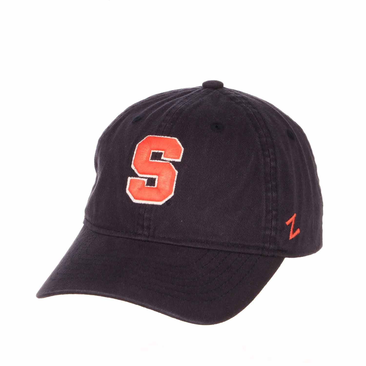 Adult NCAA All-American Relaxed Adjustable Hat (Syracuse Orange - Navy)