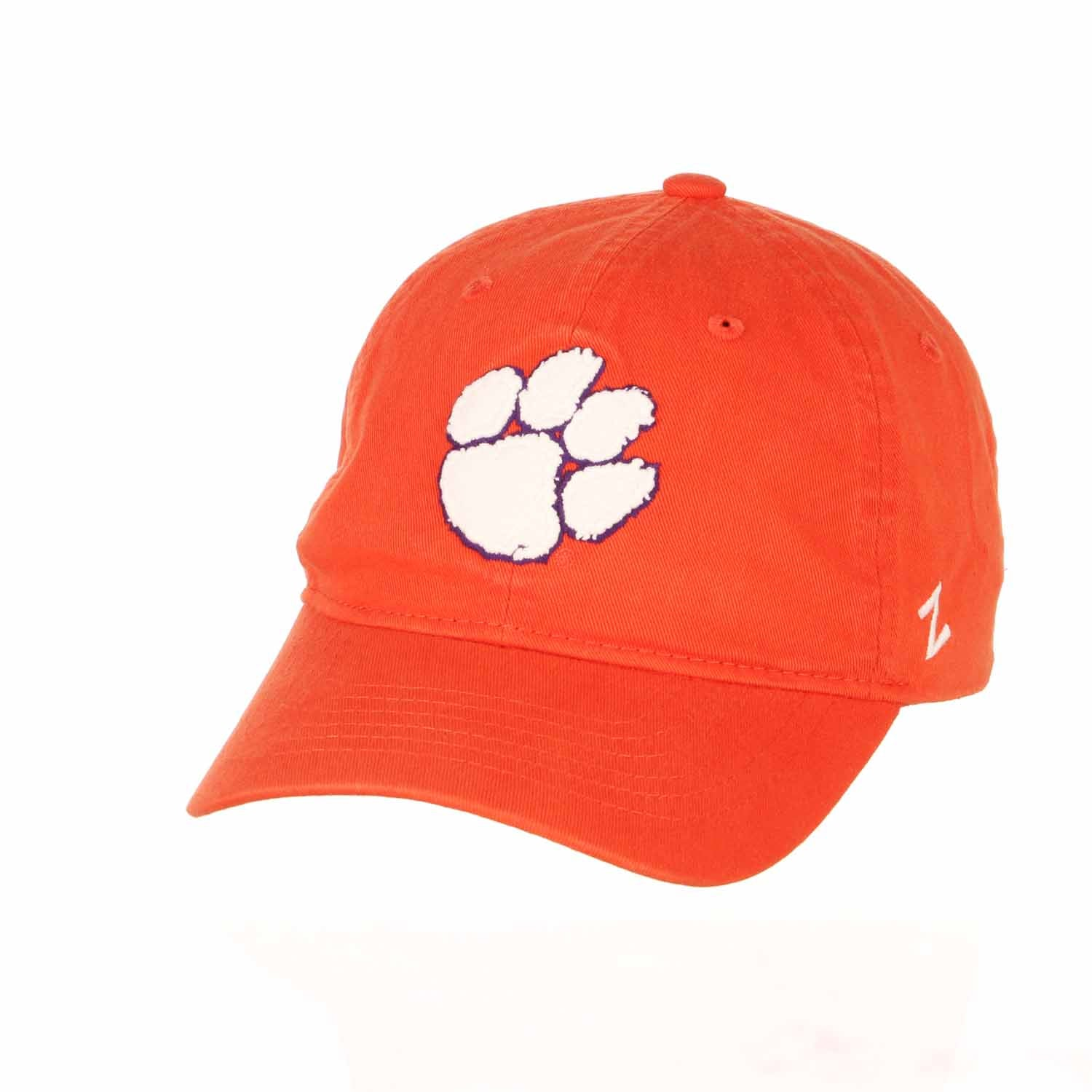 Adult NCAA All-American Relaxed Adjustable Hat (Clemson Tigers - Orange)