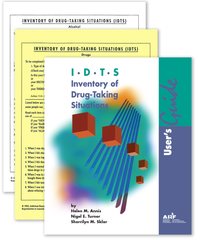 Inventory of Drug-Taking Situations (IDTS): Sample Pack|Liste des occasions de consommation de drogues (LOCD) : Trousse-échantillon