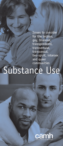 Substance Use|L'usage d'alcool et d'autres drogues