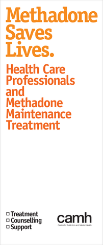 Health Care Professionals and Methadone Maintenance Treatment|Professionnels des soins de santé et traitement de maintien à la méthadone