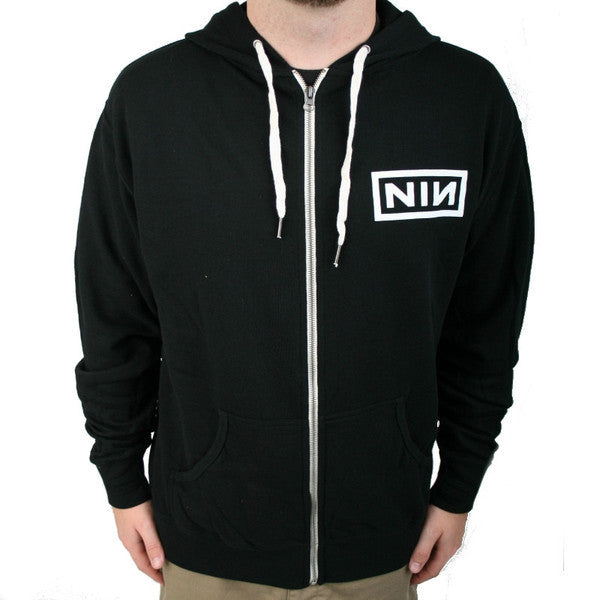 Logo Zip Up Hoodie - Nine Inch Nails  - 2