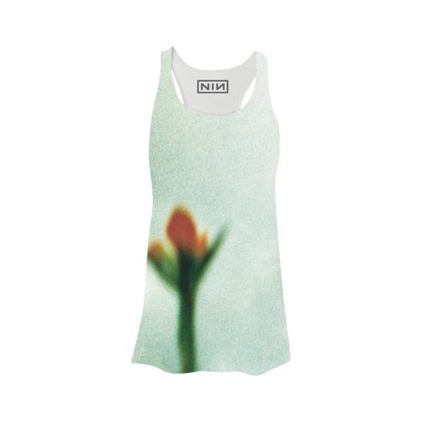Fragile Flower Sublimated Womens Tank - Nine Inch Nails  - 2