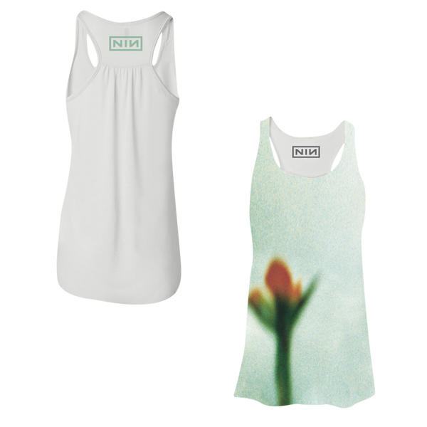 Fragile Flower Sublimated Womens Tank - Nine Inch Nails  - 1