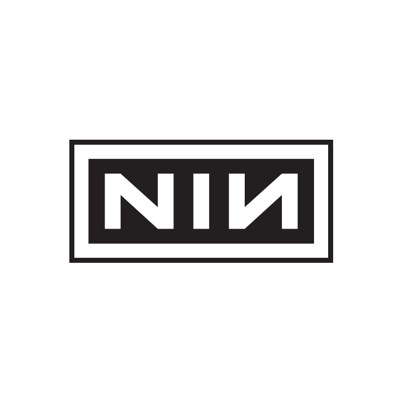 NIN Logo Embroidered Patch - Nine Inch Nails