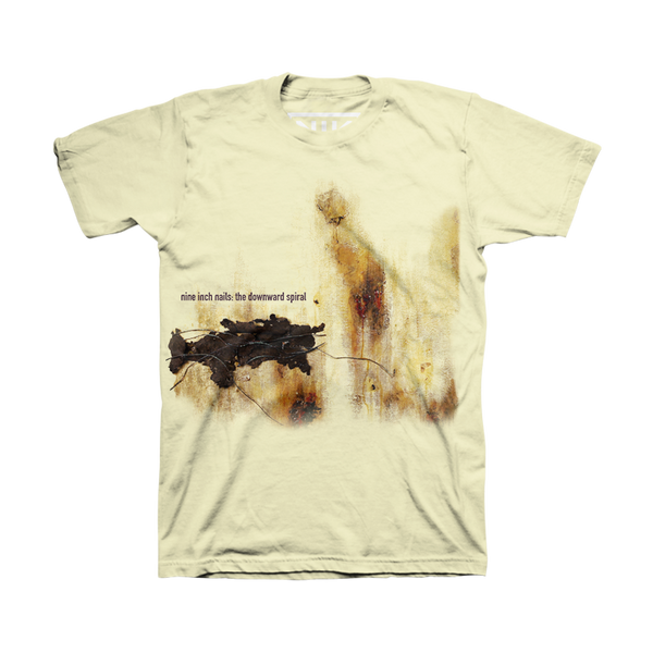 The Downward Spiral Sublimated Tee - Nine Inch Nails
