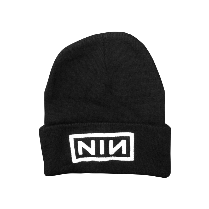 Logo Embroidered Beanie - Nine Inch Nails