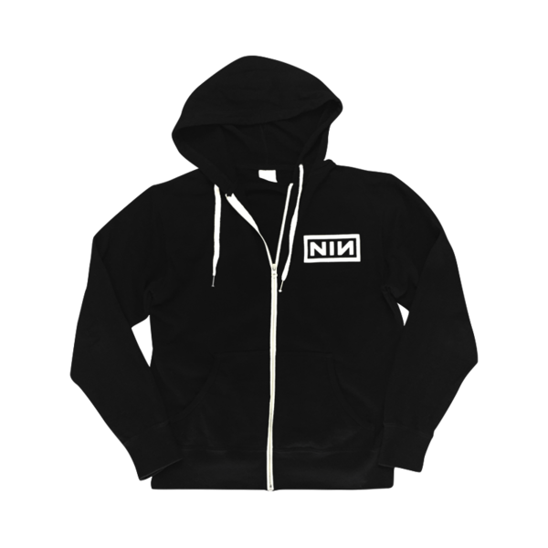 Logo Zip Up Hoodie - Nine Inch Nails  - 1