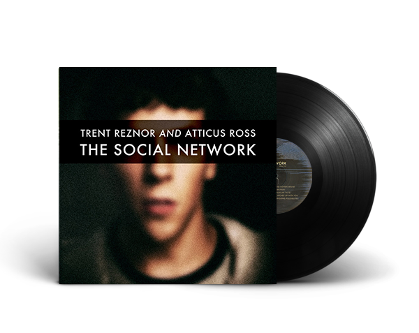 THE SOCIAL NETWORK OST <br/><span>2010 PRESSING <br/>2XLP + HI RES DIGITAL</span> - Nine Inch Nails  - 1