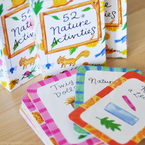 Nature Card Game 52 Activities