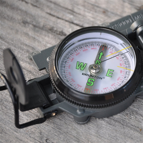 Classic Lensatic Sighting Compass