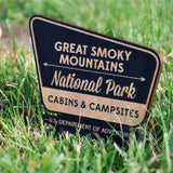 Mini National Parks Service Signs