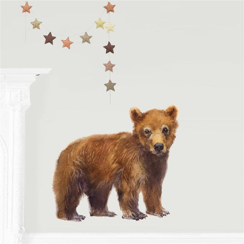 Little Bear Fabric Wall Sticker