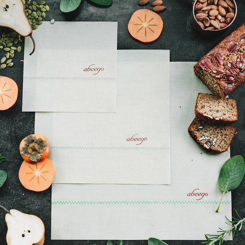 Eco-Friendly Food Wrap Sheets