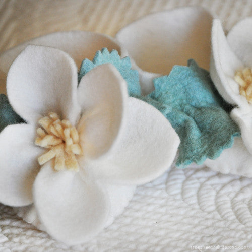 DIY Baby Booties Kit Apple Blossom