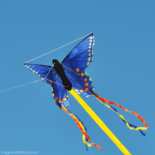 Blue Swallowtail Butterfly Kite