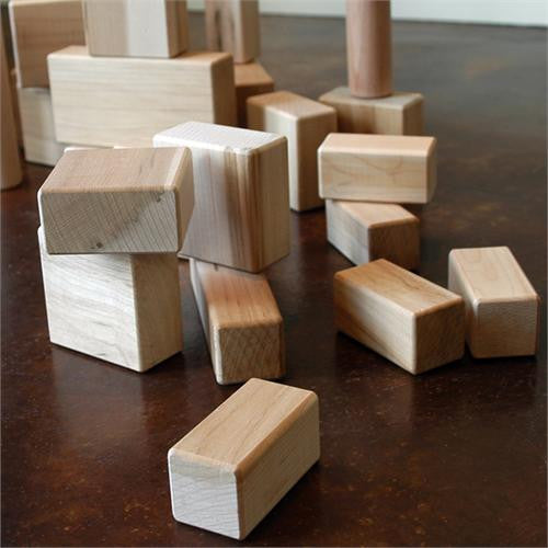 68 Piece Deluxe Maple Block Set