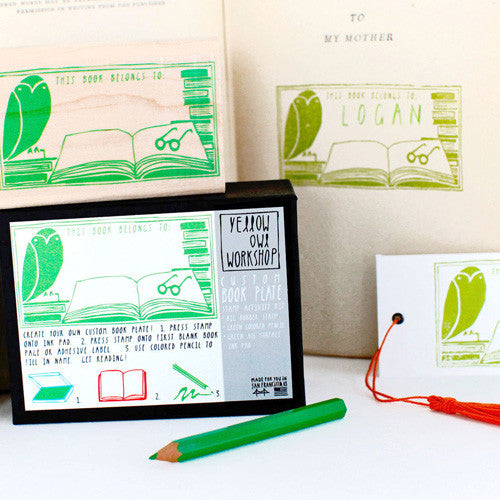 """This Book Belongs to: ______ "" Stamp Activity Kit"