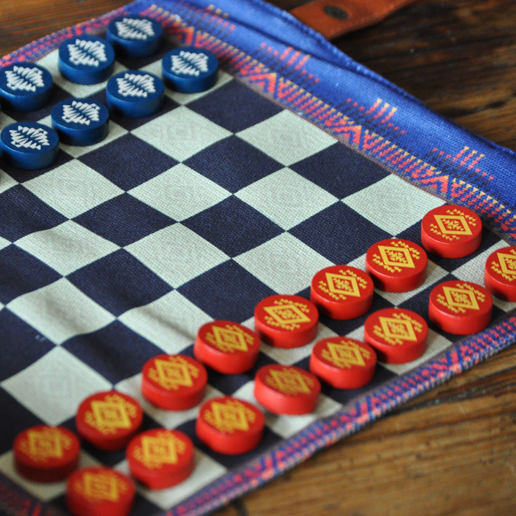 Camping Chess and Checkers
