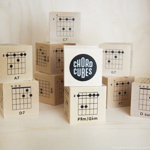 Chord Cubes for Guitar
