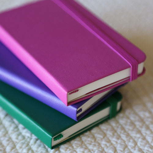 Colorful Moleskine Notebooks