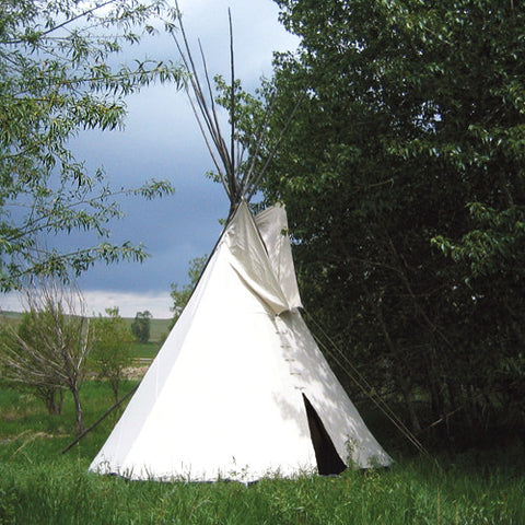 Natural Canvas Crow Tipi