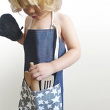 Denim Stars Children's Apron