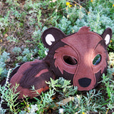 Handmade Bear Eco-Felt Costume
