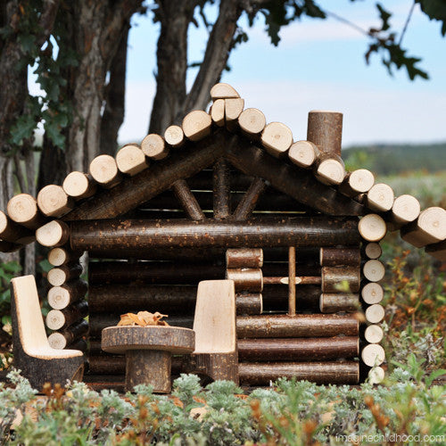 Fairy Log Cabin