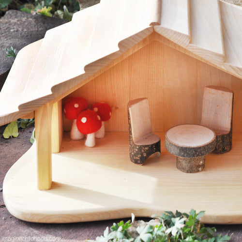Fairy Furniture-Table and Chairs