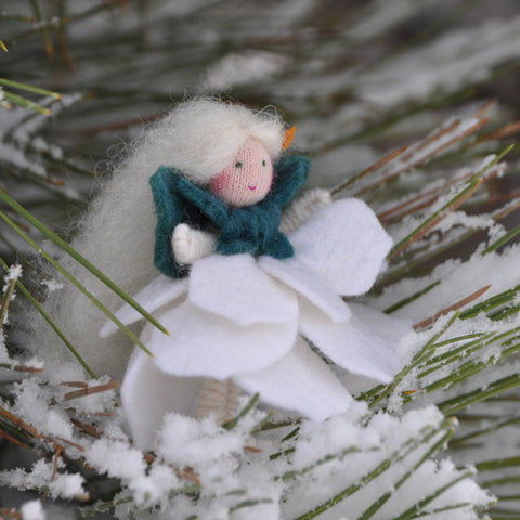 Christmas Rose Fairy