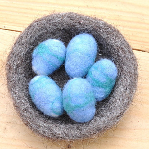 DIY Bird Nest Felting Kit