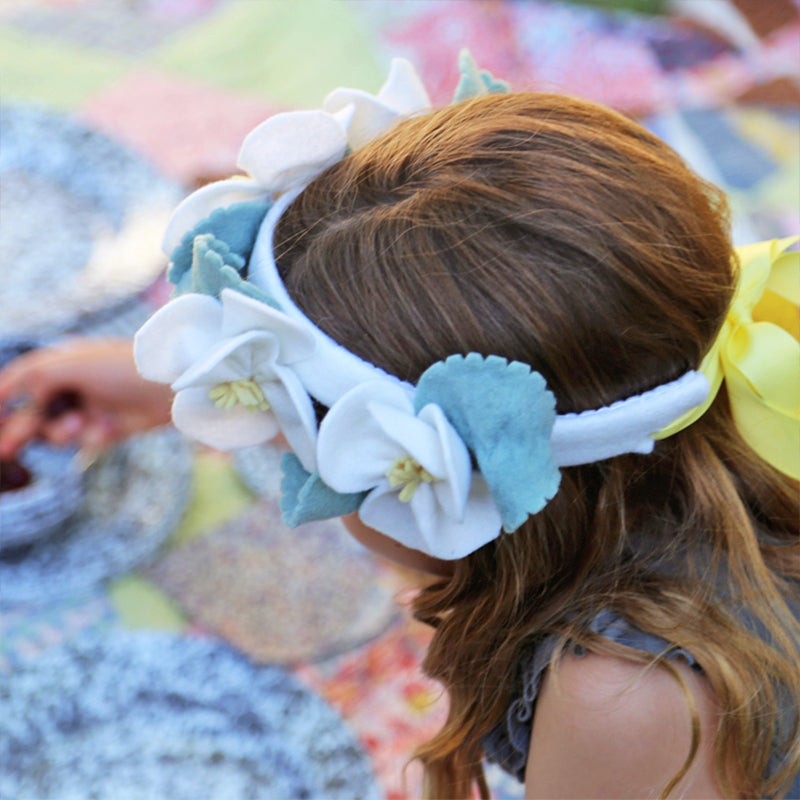 DIY Apple Blossom Flower Crown Kit