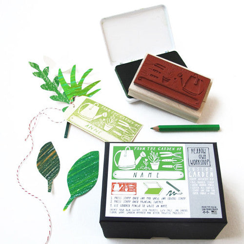 """From the Garden Of"" Stamp activity Kit"